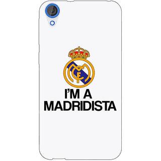 Jugaaduu Real Madrid Back Cover Case For HTC Desire 820 - J280599