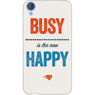 Jugaaduu Quote Back Cover Case For HTC Desire 820 - J281325