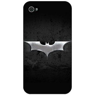 Jugaaduu Superheroes Batman Dark knight Back Cover Case For Apple iPhone 4 - J10010