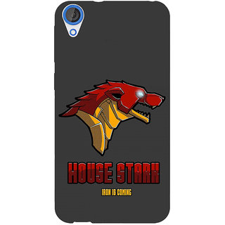 Jugaaduu Game Of Thrones GOT House Stark  Back Cover Case For HTC Desire 820Q - J290126