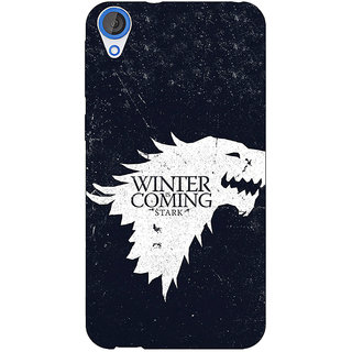 Jugaaduu Game Of Thrones GOT House Stark  Back Cover Case For HTC Desire 820Q - J290135