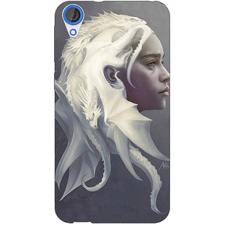 Jugaaduu Game Of Thrones GOT House Targaryen  Back Cover Case For HTC Desire 820Q - J290141