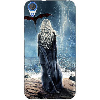 Jugaaduu Game Of Thrones GOT House Targaryen  Back Cover Case For HTC Desire 820Q - J290147