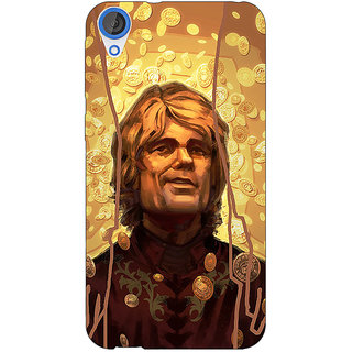 Jugaaduu Game Of Thrones GOT House Lannister  Back Cover Case For HTC Desire 820Q - J290153