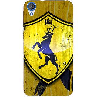 Jugaaduu Game Of Thrones GOT House Baratheon  Back Cover Case For HTC Desire 820Q - J290167