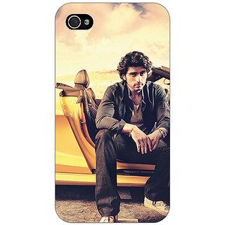 Jugaaduu Bollywood Superstar Arjun Kapoor Back Cover Case For Apple iPhone 4 - J10919