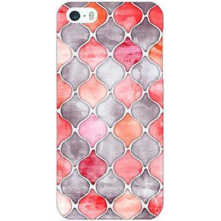 Jugaaduu Morrocan Pattern Back Cover Case For Apple iPhone 5 - J20224