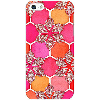 Jugaaduu Hot Winter Pattern Back Cover Case For Apple iPhone 5 - J20238