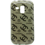 Snooky Designer Silicon Back Cover For Samsung Galaxy S Duos S7562 Td8932
