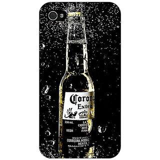 Jugaaduu Corona Beer Back Cover Case For Apple iPhone 4 - J11232