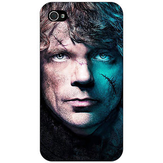 Jugaaduu Game Of Thrones GOT House Lannister Tyrion Back Cover Case For Apple iPhone 4 - J11560