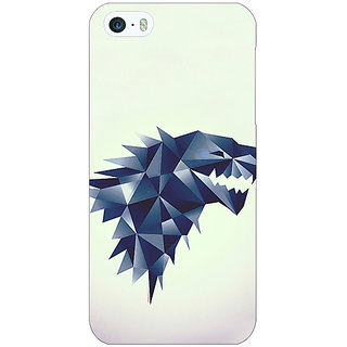 Jugaaduu Game Of Thrones GOT House Stark  Back Cover Case For Apple iPhone 5c - J30129