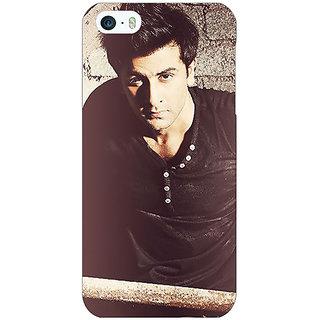 Jugaaduu Bollywood Superstar Ranbir Kapoor Back Cover Case For Apple iPhone 5 - J20903
