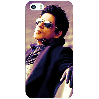 Jugaaduu Bollywood Superstar Shahrukh Khan Back Cover Case For Apple iPhone 5 - J20910