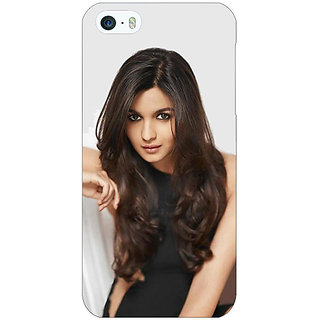 Jugaaduu Bollywood Superstar Alia Bhatt Back Cover Case For Apple iPhone 5 - J21027