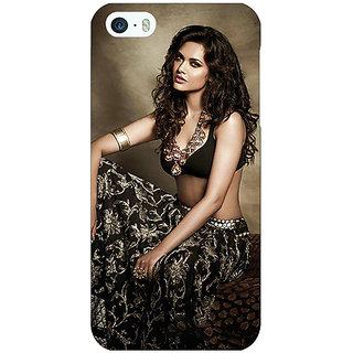 Jugaaduu Bollywood Superstar Esha Gupta Back Cover Case For Apple iPhone 5 - J21029