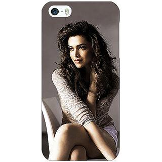 Jugaaduu Bollywood Superstar Deepika Padukone Back Cover Case For Apple iPhone 5 - J21038