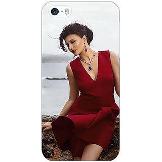 Jugaaduu Bollywood Superstar Jacqueline Fernandez Back Cover Case For Apple iPhone 5 - J21050