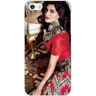 Jugaaduu Bollywood Superstar Jacqueline Fernandez Back Cover Case For Apple iPhone 5 - J21051