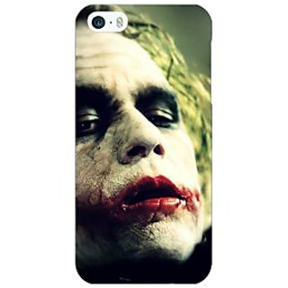 Jugaaduu Villain Joker Back Cover Case For Apple iPhone 5 - J20036