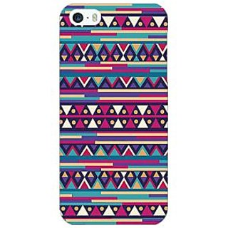 Jugaaduu Aztec Girly Tribal Back Cover Case For Apple iPhone 5 - J20063