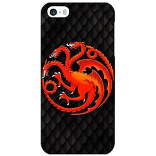 Jugaaduu Game Of Thrones GOT House Targaryen  Back Cover Case For Apple iPhone 5c - J30138
