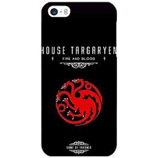 Jugaaduu Game Of Thrones GOT House Targaryen  Back Cover Case For Apple iPhone 5c - J30144