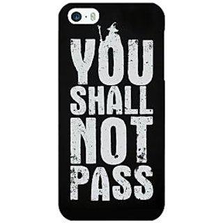 Jugaaduu LOTR Hobbit Gandalf Back Cover Case For Apple iPhone 5 - J20362
