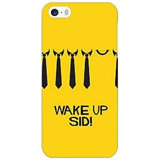 Jugaaduu Bollywood Superstar Wake Up Sid Back Cover Case For Apple iPhone 5 - J21096