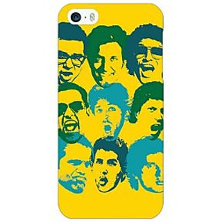 Jugaaduu Bollywood Superstar ZNMD Back Cover Case For Apple iPhone 5 - J21099