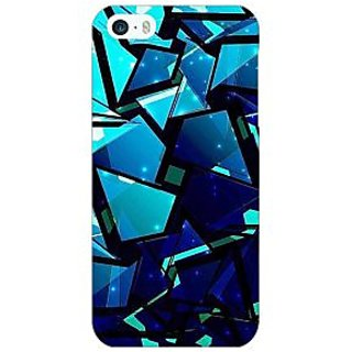 Jugaaduu Crystal Prism Back Cover Case For Apple iPhone 5 - J21412