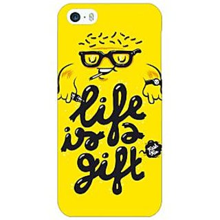 Jugaaduu Life Quote Back Cover Case For Apple iPhone 5 - J21415