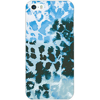 Jugaaduu Cheetah Leopard Print Back Cover Case For Apple iPhone 5 - J20086