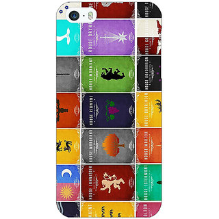 Jugaaduu Game Of Thrones GOT  Back Cover Case For Apple iPhone 5 - J20116