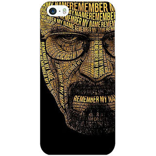 Jugaaduu Breaking Bad Heisenberg Back Cover Case For Apple iPhone 5 - J20430