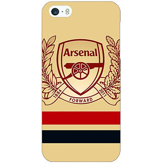 Jugaaduu Arsenal Back Cover Case For Apple iPhone 5c - J30519