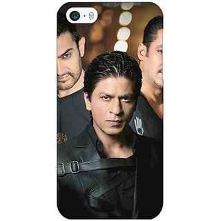 Jugaaduu Bollywood Superstar Salman Khan Sharukh Khan Aamir Khan Trio  Back Cover Case For Apple iPhone 5c - J30932