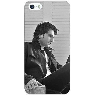 Jugaaduu Bollywood Superstar Ranveer Singh Back Cover Case For Apple iPhone 5c - J30945