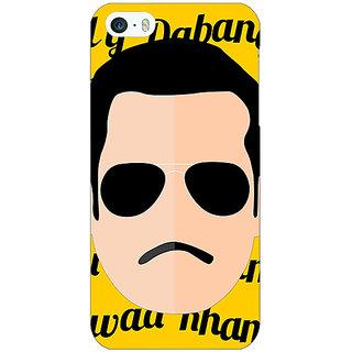 Jugaaduu Bollywood Superstar Chulbul Pandey Salman Khan Back Cover Case For Apple iPhone 5 - J21120