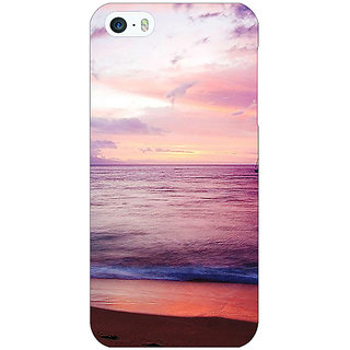 Jugaaduu Sunset At the Beach Back Cover Case For Apple iPhone 5 - J21136