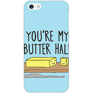 Jugaaduu Quotes Better half Back Cover Case For Apple iPhone 5 - J21140