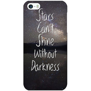 Jugaaduu Quote Back Cover Case For Apple iPhone 5 - J21478