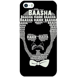 Jugaaduu Rajni Rajanikant Back Cover Case For Apple iPhone 5 - J21494