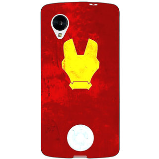 Jugaaduu Superheroes Ironman Back Cover Case For Google Nexus 5 - J40021