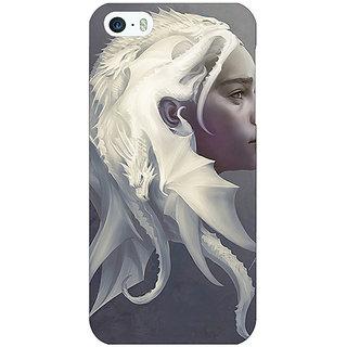 Jugaaduu Game Of Thrones GOT House Targaryen  Back Cover Case For Apple iPhone 5 - J20141