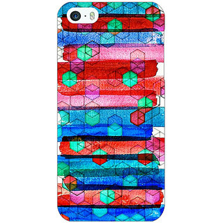 Jugaaduu Colourful Winter Pattern Back Cover Case For Apple iPhone 5c - J30279