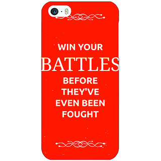 Jugaaduu SUITS Quotes Back Cover Case For Apple iPhone 5 - J20477