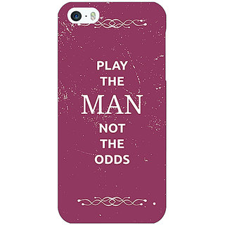 Jugaaduu SUITS Quotes Back Cover Case For Apple iPhone 5 - J20482
