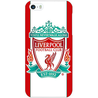 Jugaaduu Liverpool Back Cover Case For Apple iPhone 5c - J30544