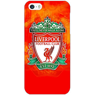 Jugaaduu Liverpool Back Cover Case For Apple iPhone 5c - J30547
